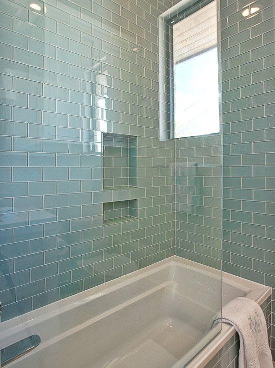 awesome blue glass tile bathroom inspiration-Amazing Blue Glass Tile Bathroom Photograph
