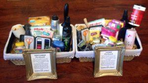 Bathroom Basket Wedding Lovely Diy Bathroom Baskets Including Free Template for Signs Online