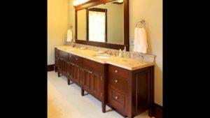 Bathroom Double Sink Countertop Stylish Double Sink Bathroom Vanity Model