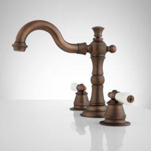 Bathroom Faucet Oil Rubbed Bronze Superb Roseanna Widespread Bathroom Faucet Porcelain Lever Handles Inspiration