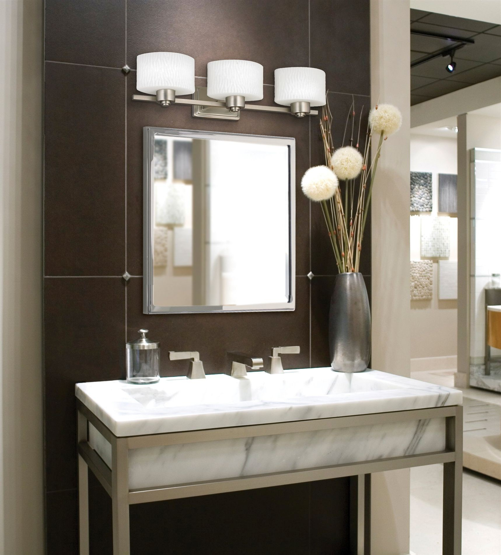 New Bathroom Lights Above Mirror Model Design Ideas Gallery Image And Wallpaper