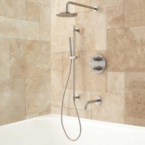 Bathroom Shower Systems Beautiful Kennedy thermostatic Tub Shower System Bathroom Decoration
