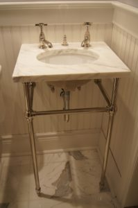 Bathroom Sink with Legs Unique Undermount Sink with A Marble top On Console Legs Construction