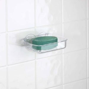 Bathroom soap Holder Stylish Bath Bliss Clear Suction soap Dish Walmart Décor