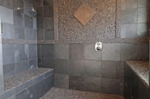 Bathroom Stone Tile Awesome Using Natural Stone In Showers Plan