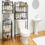 Bathroom Storage Rack Modern Chapter Bathroom Storage Wall Shelf Oil Rubbed Bronze Finish Plan