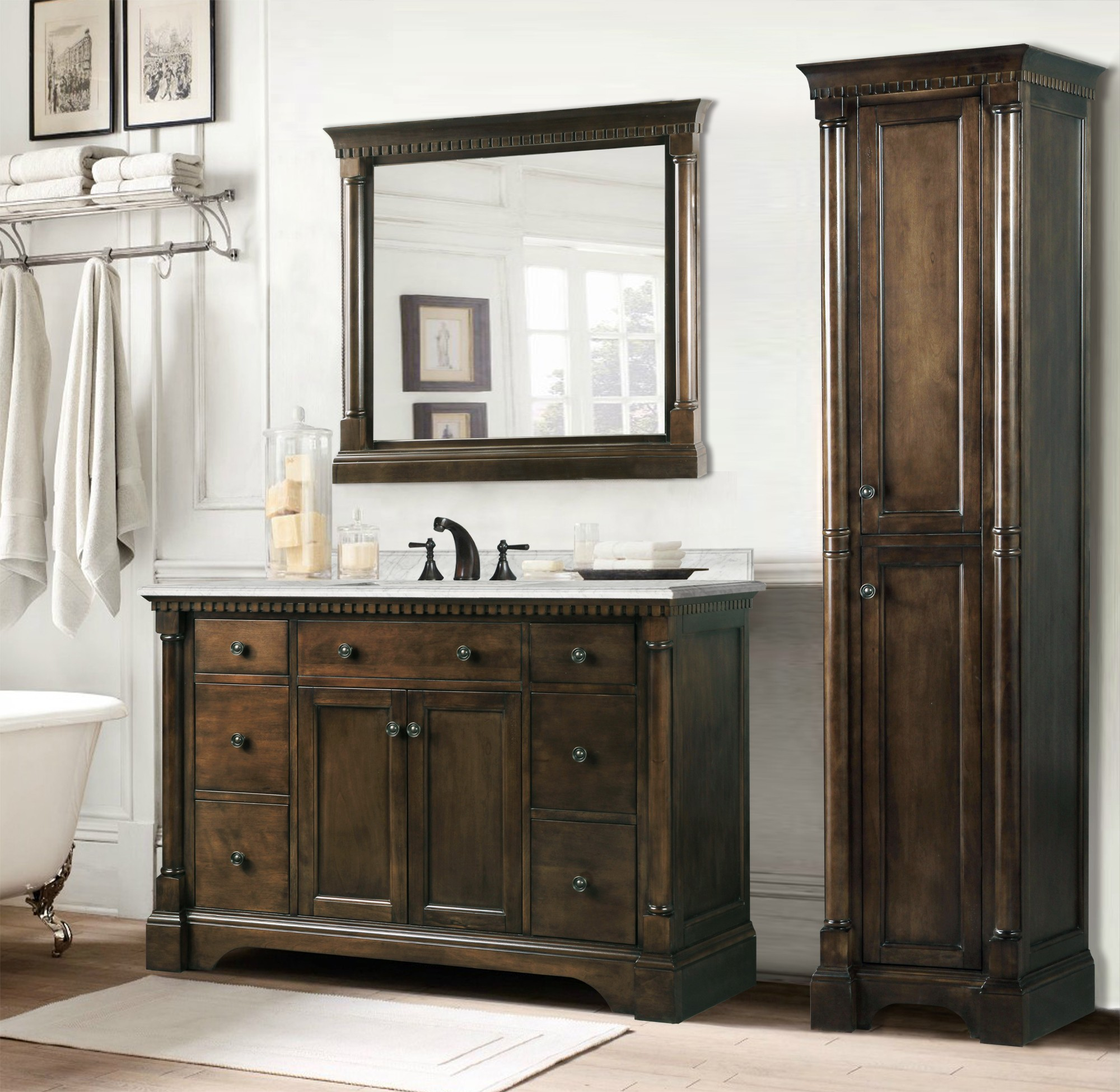What Everybody Dislikes About Stylish Bathroom Vanity ...