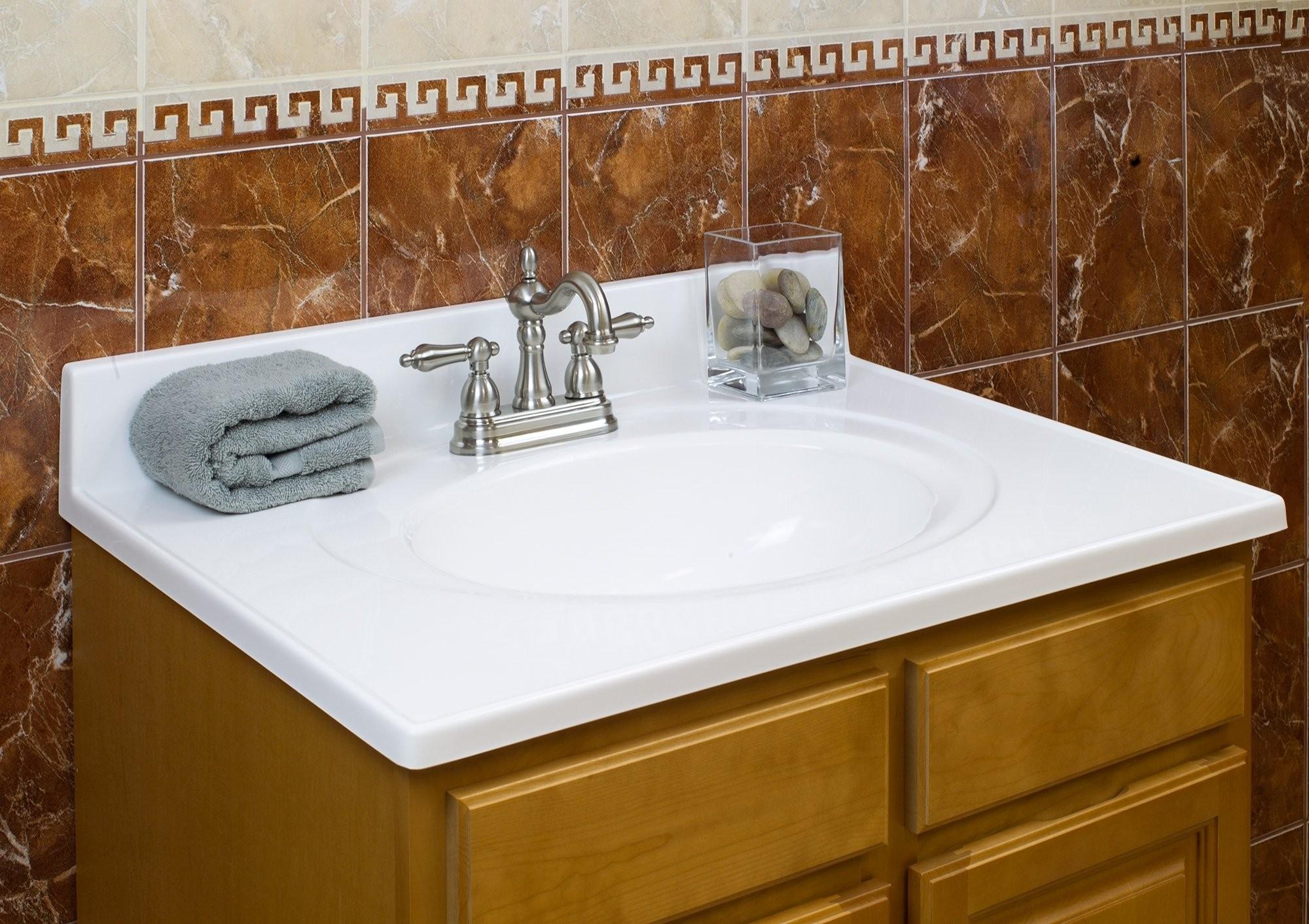 Bathroom Vanity top Best Lesscare Bathroom Vanity tops Cultured Marble with Bathroom Vanity Photograph