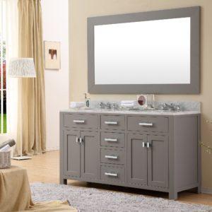 Bathroom Vanity with Marble top Fresh Daston Inch Gray Double Sink Bathroom Vanity White Marble top Online