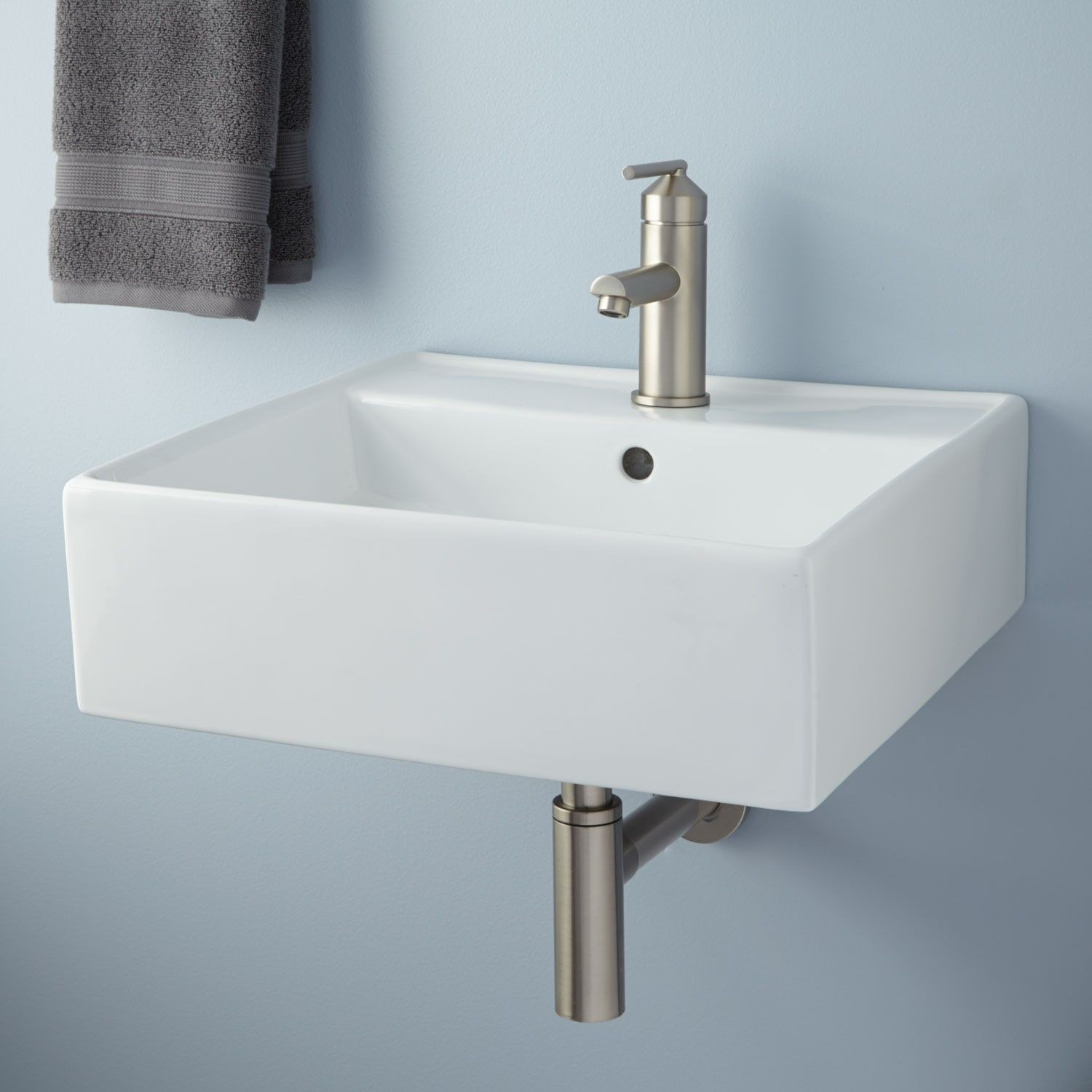 Bathroom Wall Sink Modern Audrie Wall Mount Bathroom Sink Collection