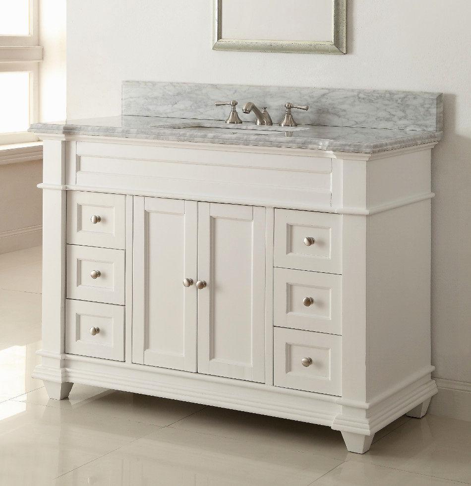 beautiful 54 inch bathroom vanity single sink picture-Stunning 54 Inch Bathroom Vanity Single Sink Portrait