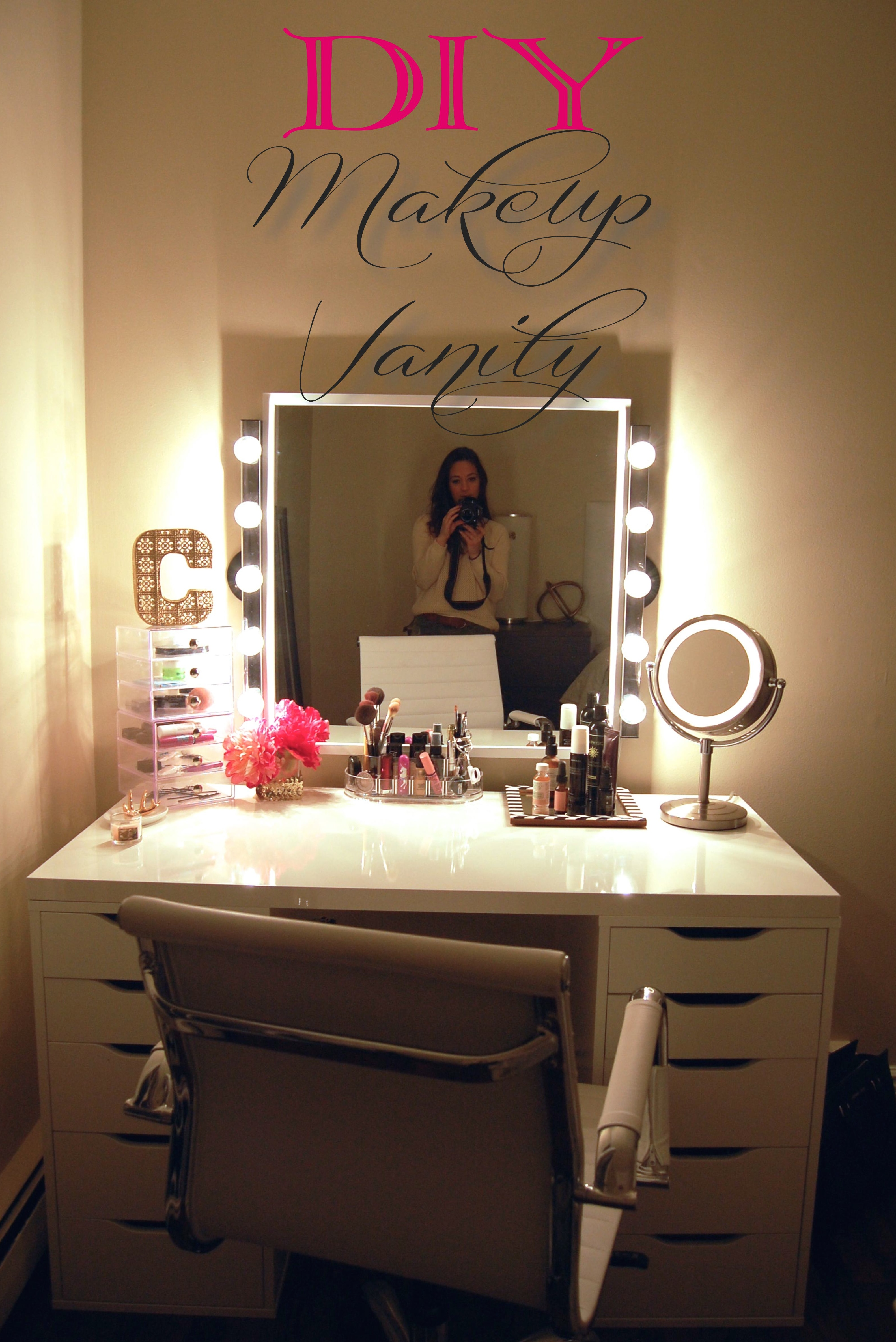 beautiful bathroom vanity with makeup station design-Excellent Bathroom Vanity with Makeup Station Layout