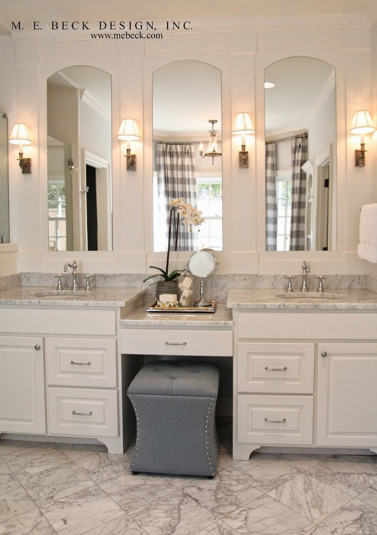 beautiful bathroom vanity with makeup station image-Excellent Bathroom Vanity with Makeup Station Layout