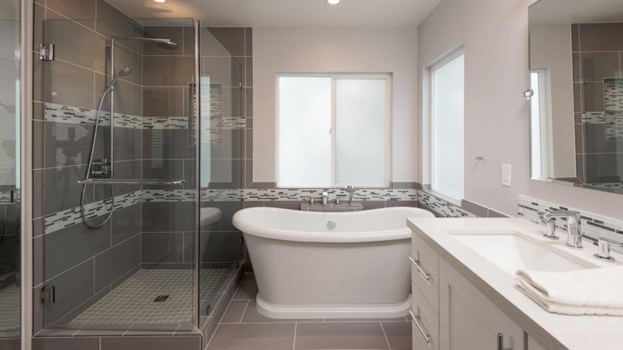 Awesome Bathroom Wall Tile Installation Cost Construction - Bathroom ...