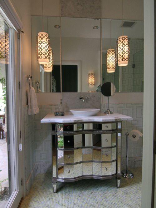 beautiful hanging bathroom lights photo-Cool Hanging Bathroom Lights Décor