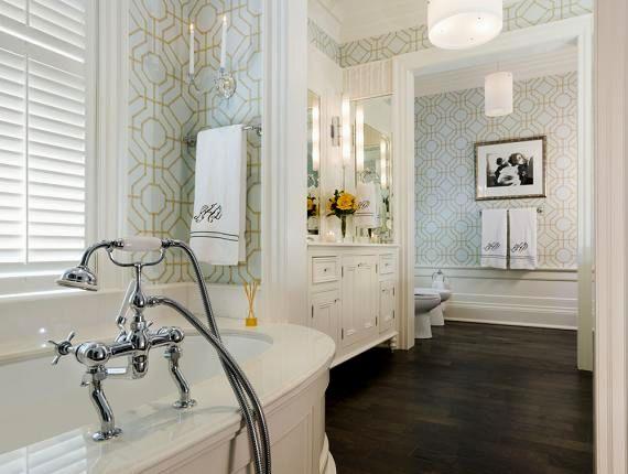 beautiful hardwood floors in bathroom wallpaper-Contemporary Hardwood Floors In Bathroom Photo