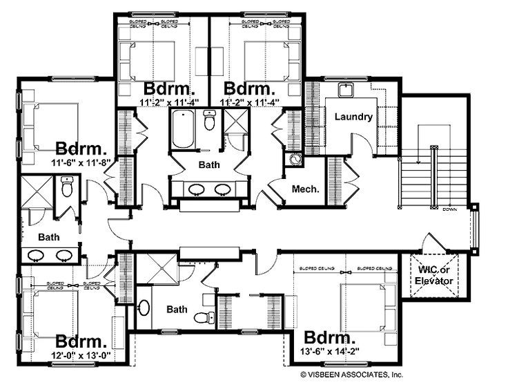 beautiful house plans with jack and jill bathroom image-Finest House Plans with Jack and Jill Bathroom Model