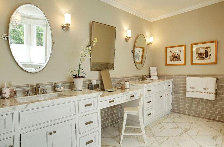 beautiful marble subway tile bathroom ideas-Contemporary Marble Subway Tile Bathroom Layout