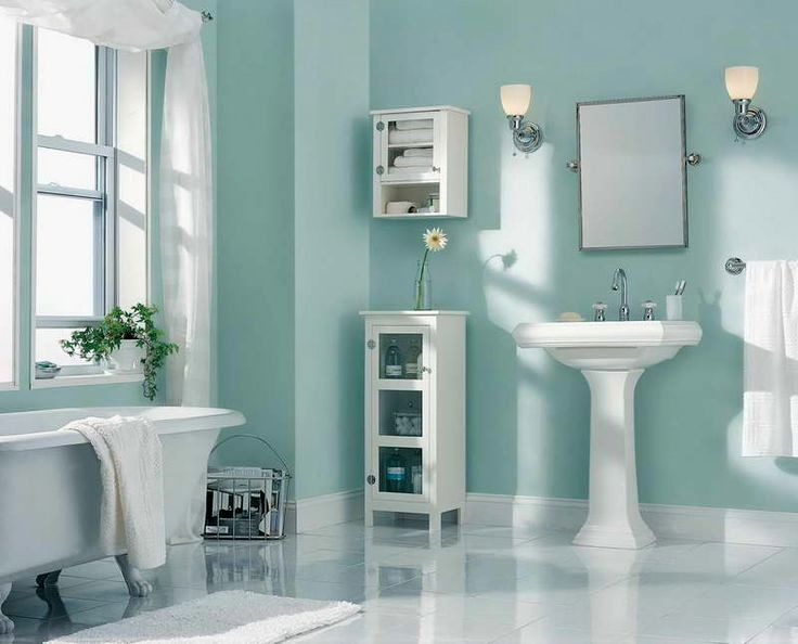 What paint to use in bathroom