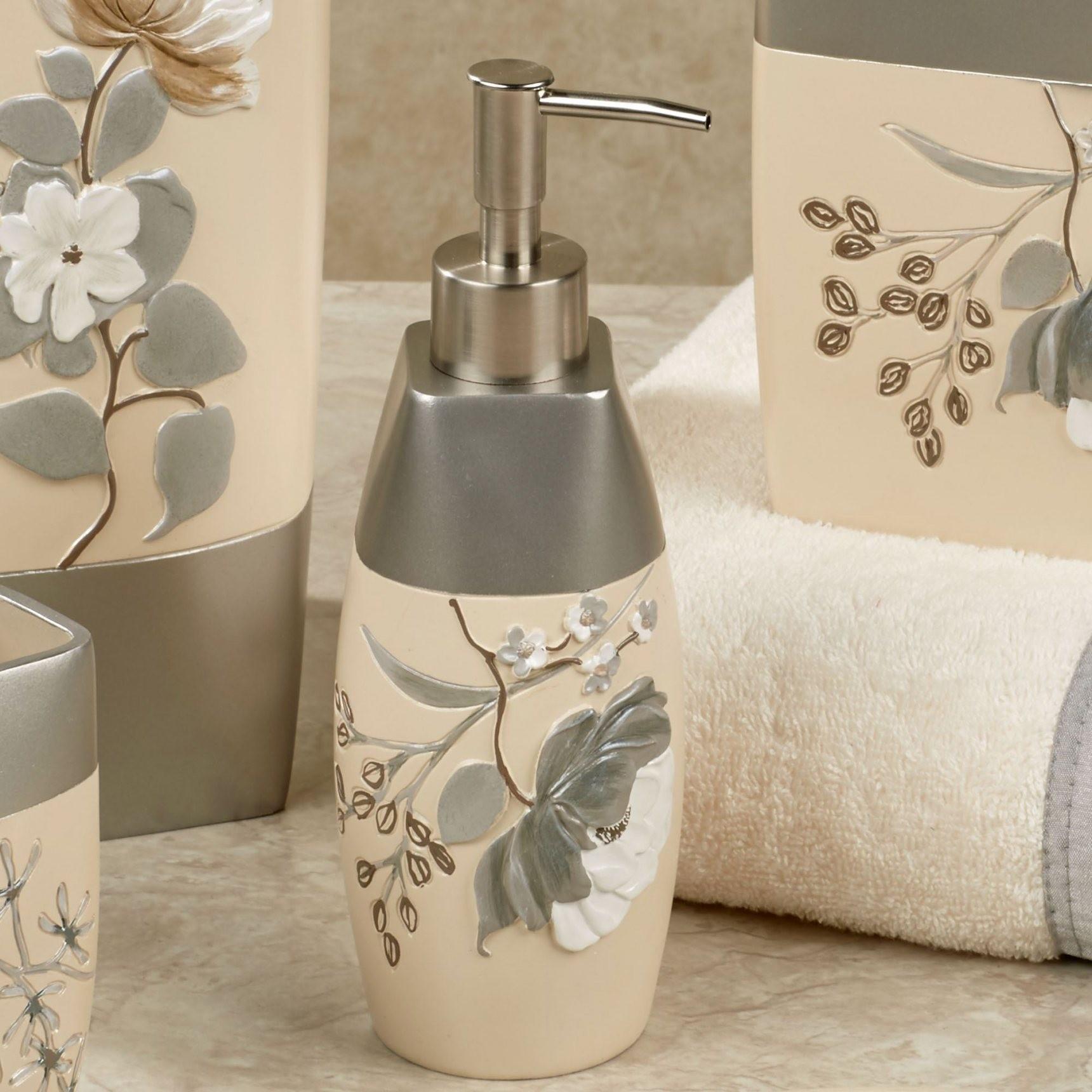 New Beige Bathroom Accessories Decoration Home Sweet Home Modern Livingroom