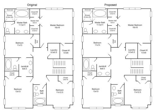 best house plans with jack and jill bathroom decoration-Finest House Plans with Jack and Jill Bathroom Model