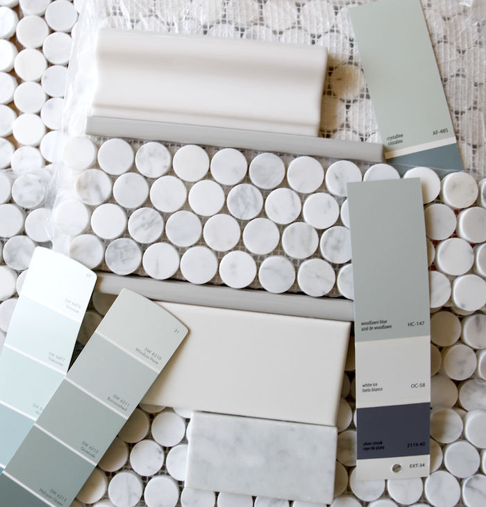best of marble subway tile bathroom wallpaper-Contemporary Marble Subway Tile Bathroom Layout