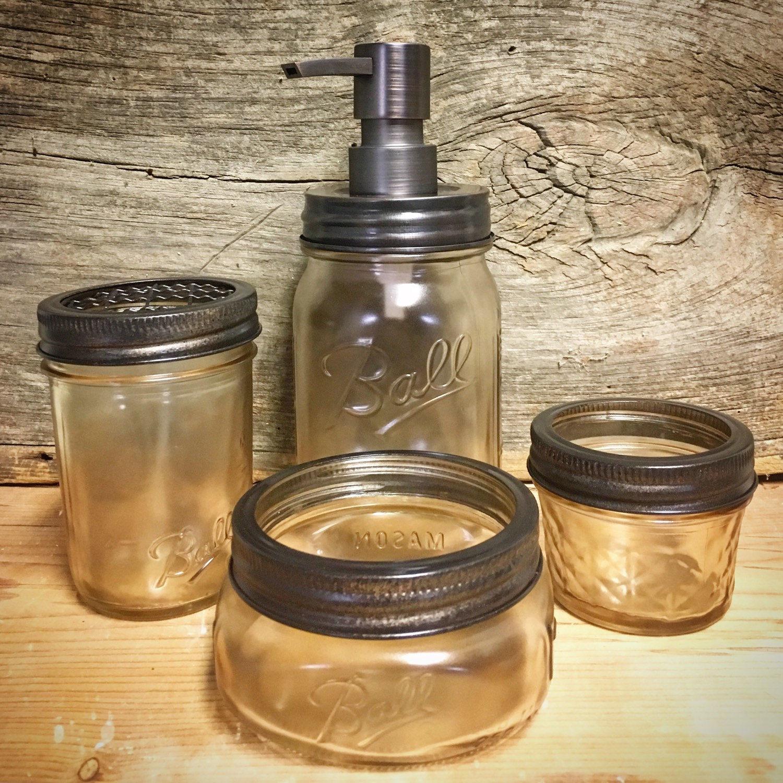 best of mason jar bathroom accessories ideas-Fantastic Mason Jar Bathroom Accessories Inspiration