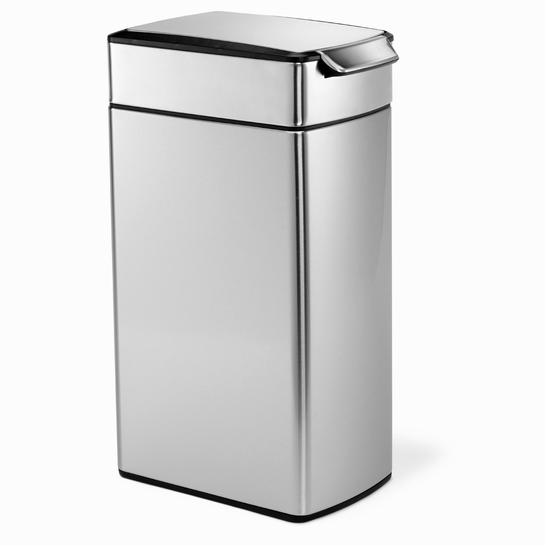 Target Kitchen Trash Cans: Stylish Simplehuman Bathroom Trash Can Model