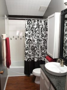 Black and White Bathroom Decor Cute Black and White Bathroom Decor Ideas Hgtv Design
