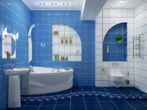 Blue and White Bathrooms Latest Blue and White Bathroom Game Flooring Red Flag Enchanting Photo