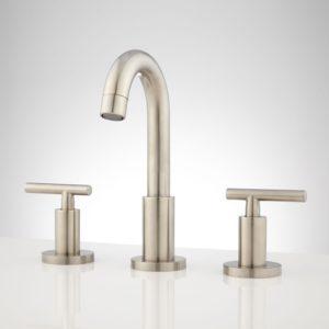 Brushed Nickel Bathroom Fixtures Inspirational Bareva Widespread Bathroom Faucet Bathroom Architecture