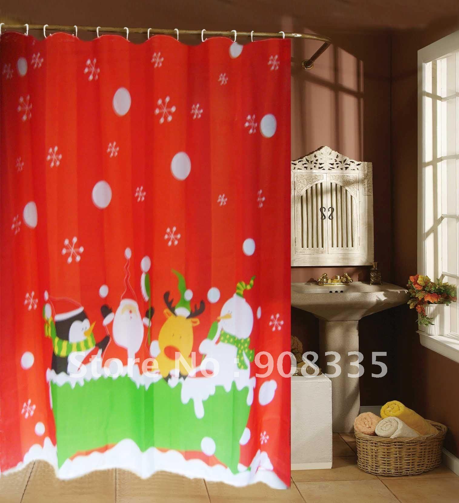 modern bathroom shower curtain vintage style christmas bathroom curtains contemporary modern decor fun red shower curtain with idolza ideas decoration