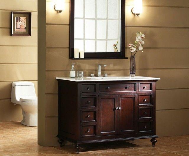 contemporary 48 white bathroom vanity architecture-Sensational 48 White Bathroom Vanity Gallery