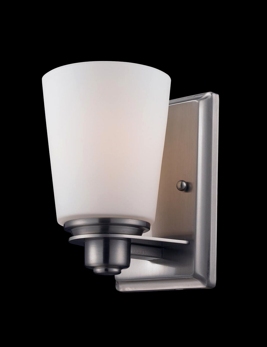 contemporary 5 light bathroom fixture décor-Contemporary 5 Light Bathroom Fixture Image