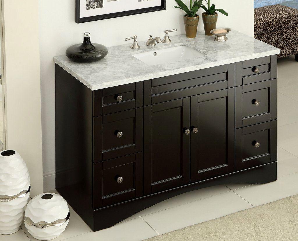 contemporary 54 inch bathroom vanity single sink ideas-Stunning 54 Inch Bathroom Vanity Single Sink Portrait