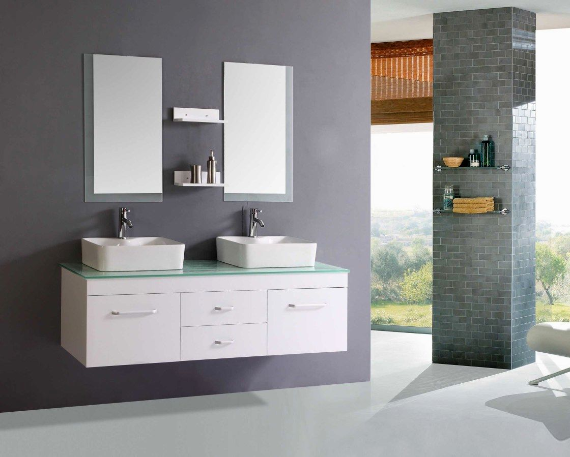 contemporary bathroom double vanities with tops concept-Wonderful Bathroom Double Vanities with tops Gallery