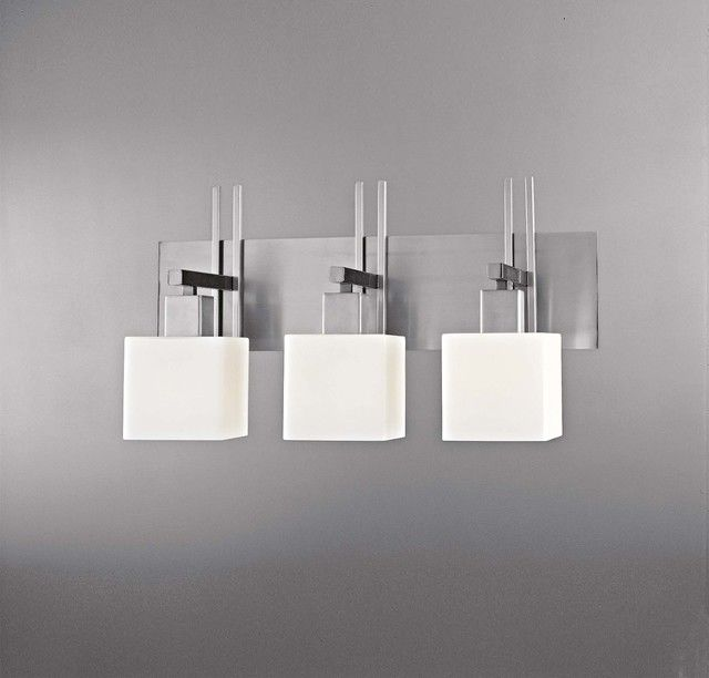 contemporary brushed nickel bathroom lights picture-Excellent Brushed Nickel Bathroom Lights Pattern
