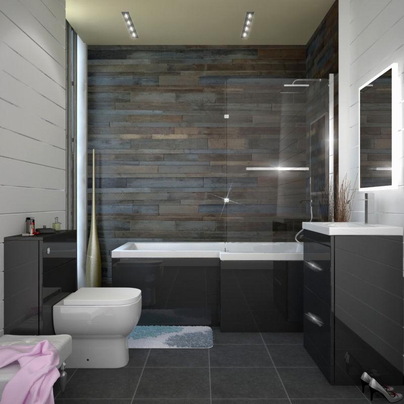 contemporary grey bathroom floor tiles online-Inspirational Grey Bathroom Floor Tiles Portrait