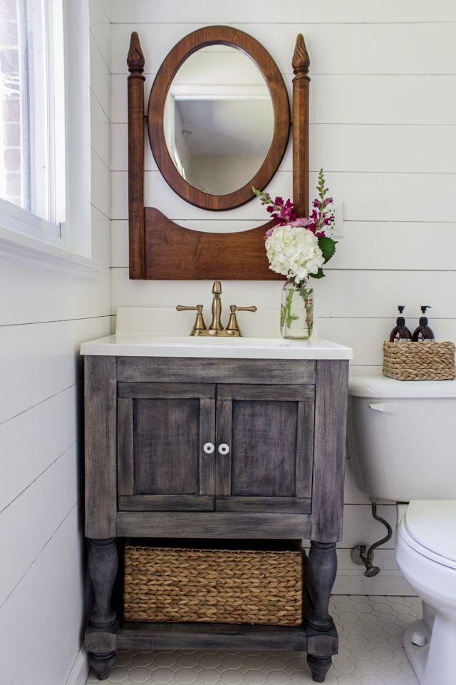 contemporary rustic bathroom vanity plans image-Finest Rustic Bathroom Vanity Plans Décor