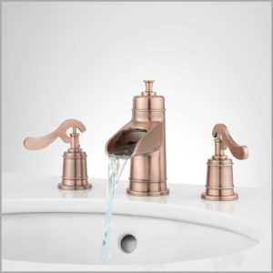 Copper Bathroom Fixtures Excellent Fantastic Copper Bathroom Faucets Decor Bathroom Ideas Construction