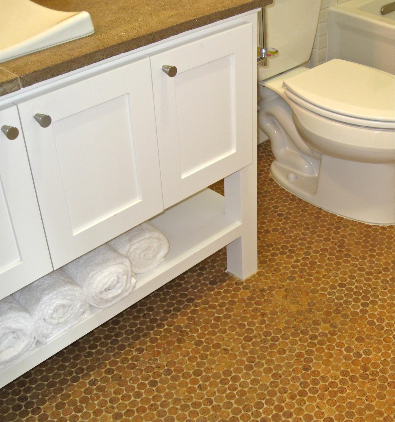 Cork Flooring For Bathroom Fancy In Model