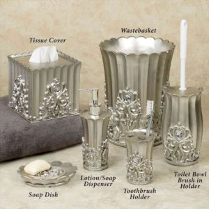 Crystal Bathroom Accessories Sets Terrific Crystal Bathroom Accessories Layout