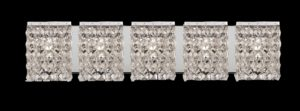 Crystal Vanity Lights for Bathroom Modern Great Crystal Bathroom Vanity Light Fixtures P In Creative Small Photo