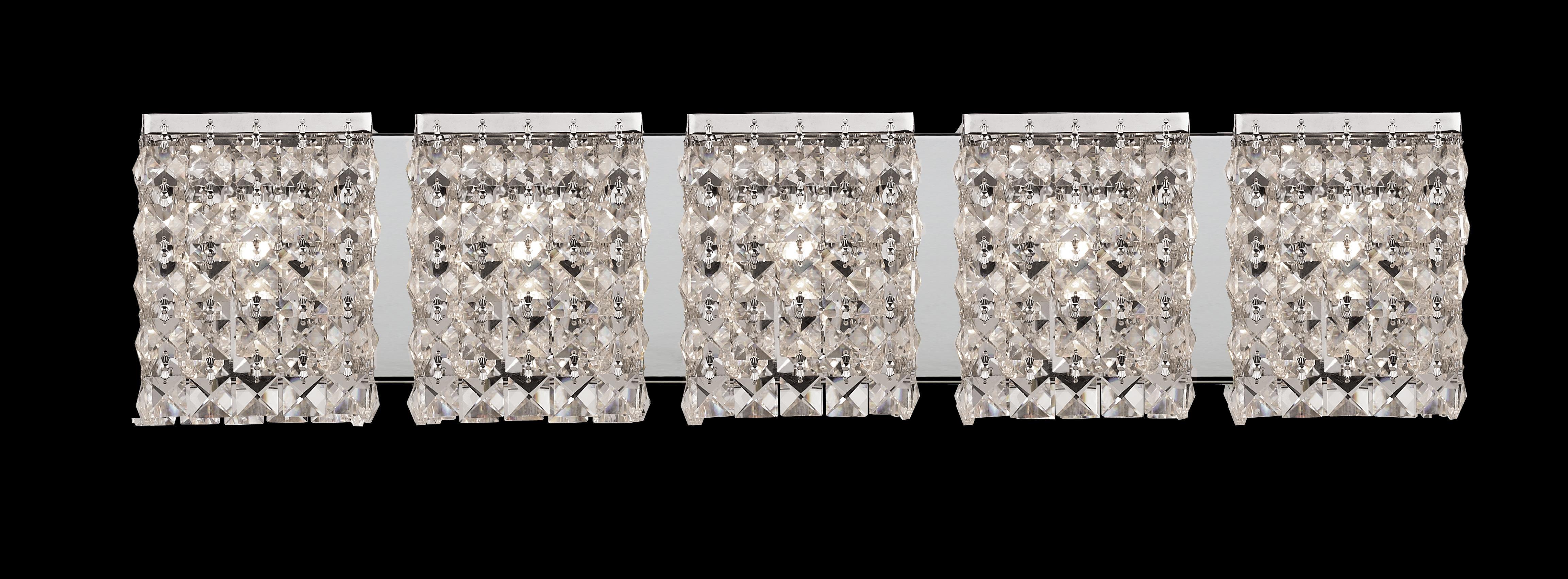 Crystal Vanity Lights for Bathroom Modern Great Crystal Bathroom Vanity Light Fixtures P In Creative Small Photo