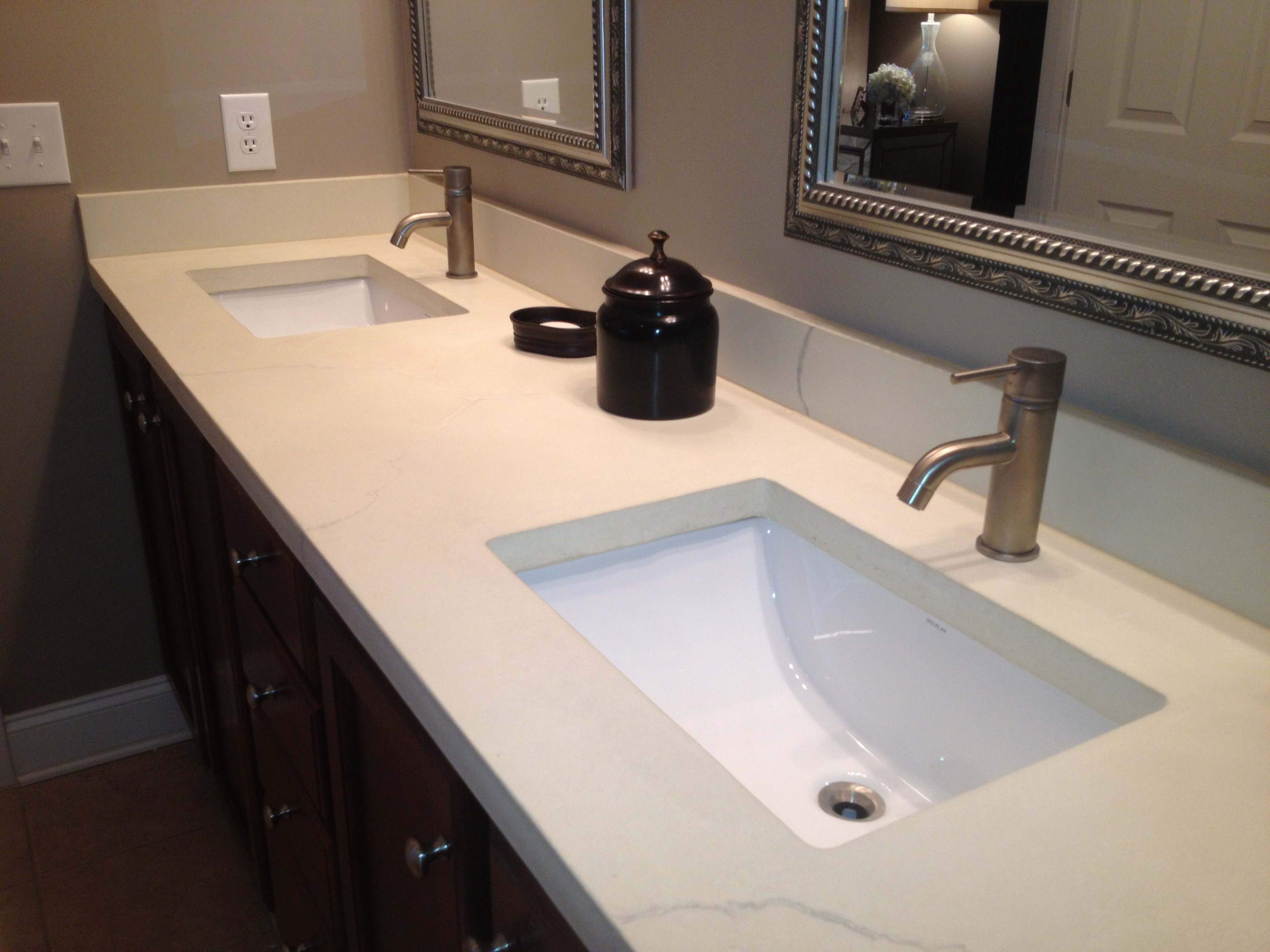 Custom Bathroom Vanity tops Contemporary Perfect Custom Bathroom Vanity tops In Small Home Remodel Ideas Image