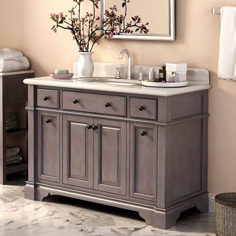 cute 52 inch bathroom vanity plan-Wonderful 52 Inch Bathroom Vanity Picture