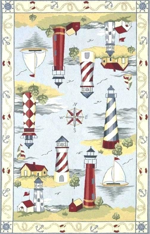 cute lighthouse bathroom rugs collection-Stunning Lighthouse Bathroom Rugs Model