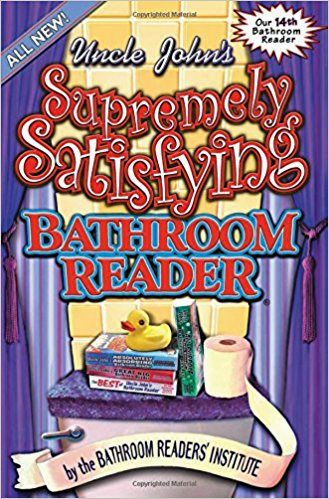 cute uncle john's bathroom reader model-Beautiful Uncle John's Bathroom Reader Layout