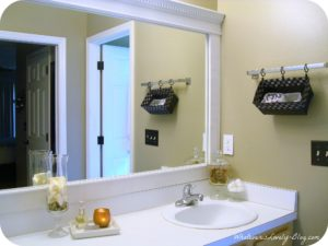 Diy Bathroom Mirror Wonderful Diy Framing Bathroom Mirror Bathroom Mirrors Inspiration