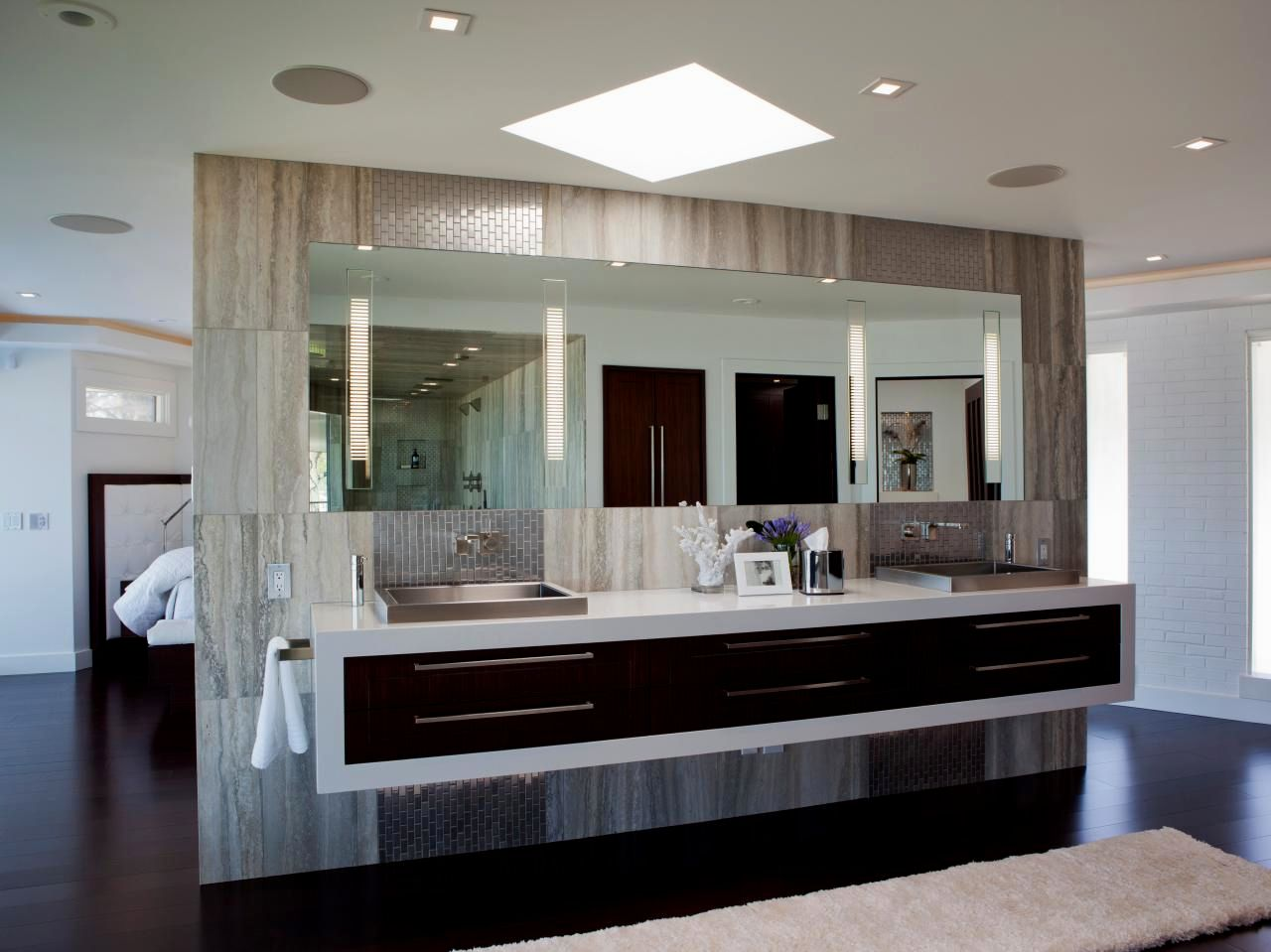 elegant floating shelves bathroom concept-Wonderful Floating Shelves Bathroom Picture